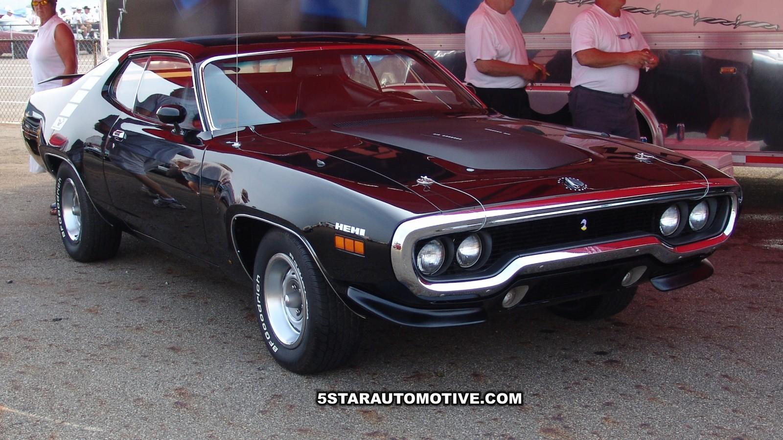 1971 Plymouth Road Runner Hemi 1600x900 - Wallpaper - 5 Star Automotive