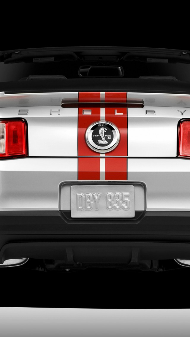 2011 Ford Shelby GT500 Mustang Convertible - 1 iPhone 5/5S ...