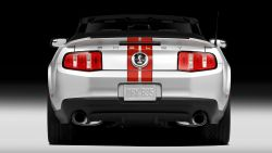 2011 Ford Shelby GT500 Mustang Convertible - 1