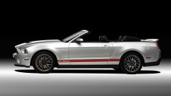 2011 Ford Shelby GT500 Mustang Convertible